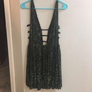 Free People Cutout Dress